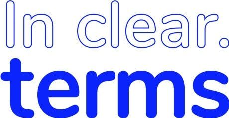 Logo in clear terms